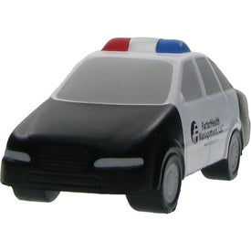 Police Car Stress Ball Imprinted with Your Logo