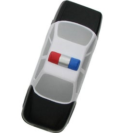 Police Car Stress Ball Printed with Your Logo