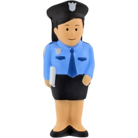 Police Woman Stress Ball