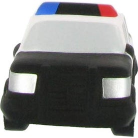 Police Car Stress Reliever Imprinted with Your Logo