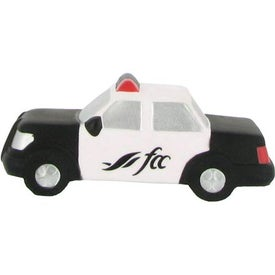 Police Car Stress Reliever for Advertising
