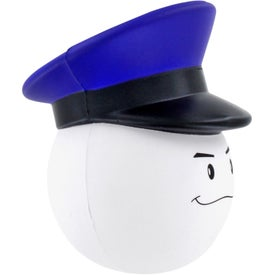 Policeman Mad Cap Stress Ball for your School