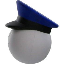 Advertising Policeman Mad Cap Stress Ball