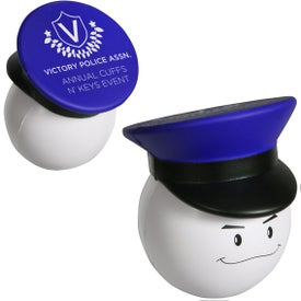 Policeman Mad Cap Stress Ball