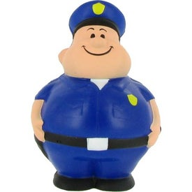 Policeman Bert Stress Reliever for Advertising