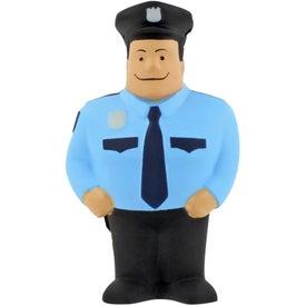 Logo Policeman Stress Ball