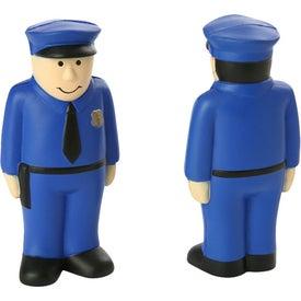 Policeman Stress Ball (Economy)