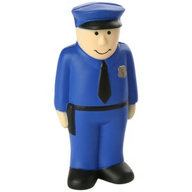 Personalized Policeman Stress Ball