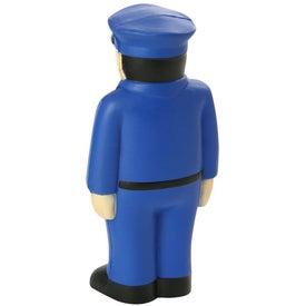 Customized Policeman Stress Ball