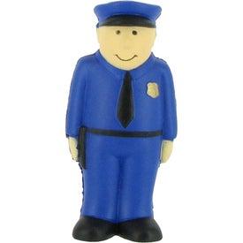 Branded Policeman Stress Ball