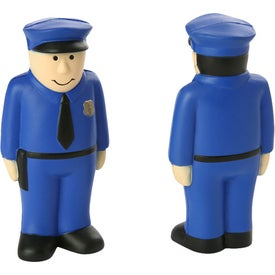 "Policeman Stress Ball (2"" x 4"" x 1"")"