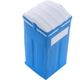 Porta-Potty Stress Reliever Imprinted with Your Logo
