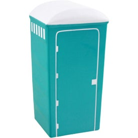 Porta-Potty Stress Ball from Quality Logo Products