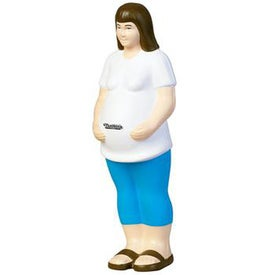 Pregnant Woman Stress Ball