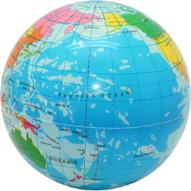 Printed Globe Stress Reliever for your School