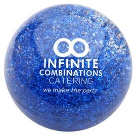 Company Promo Bouncer Glitter Ball