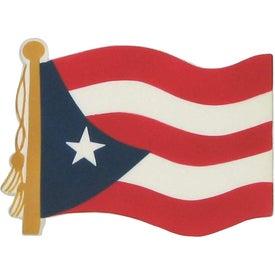Puerto Rican Flag Stress Ball