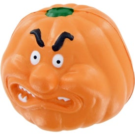 Pumpkin Angry Stress Toy with Your Logo