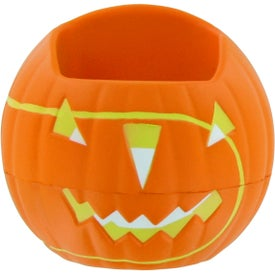 Pumpkin Cell Phone Holder Stress Toy