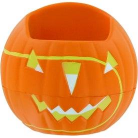 Advertising Pumpkin Cell Phone Holder Stress Toy