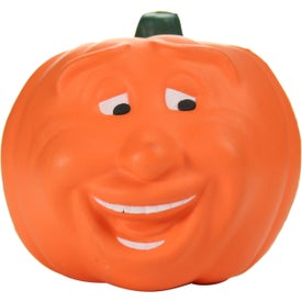 Advertising Pumpkin Maniacal Stress Toy