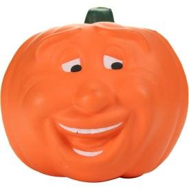Advertising Pumpkin Maniacal Stress Toy
