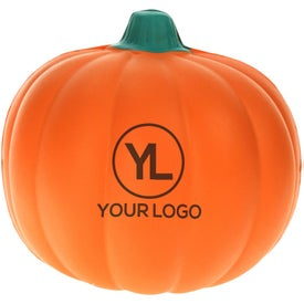 Personalized Pumpkin Stress Reliever