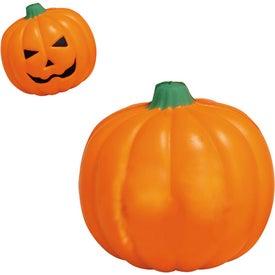 Imprinted Pumpkin Stress Ball