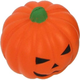 Pumpkin Stress Ball Printed with Your Logo