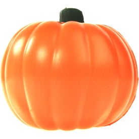 Pumpkin Stress Ball with Your Slogan