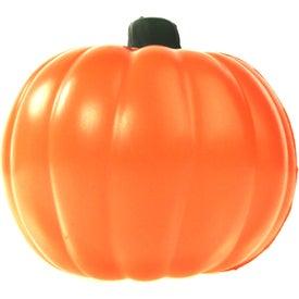 Pumpkin Stress Ball with Your Slogan