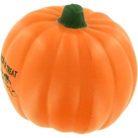 Advertising Pumpkin Stress Ball