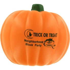 "Pumpkin Stress Ball (2.5"" Dia.)"