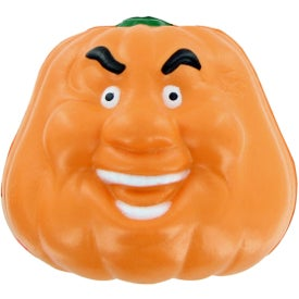 Pumpkin Smile Stress Toy