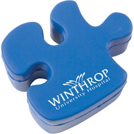Monogrammed Puzzle Piece Stress Ball