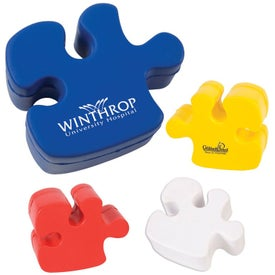 Promotional Puzzle Piece Stress Ball