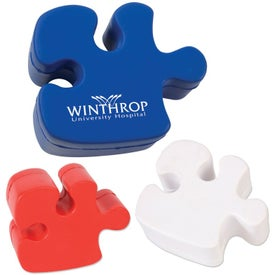 Puzzle Piece Stress Ball for Your Organization