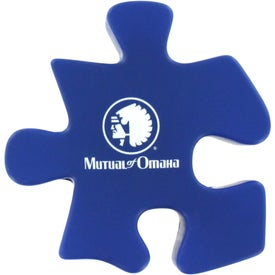 Printed Puzzle Piece Stress Ball