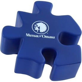 Puzzle Piece Stress Ball for Promotion