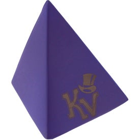 Pyramid Stress Reliever with Your Logo