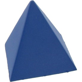 Pyramid Stress Ball for Promotion