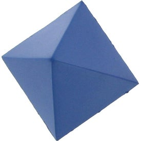 Pyramid Stress Ball Printed with Your Logo