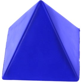 Pyramid Stress Ball for Advertising