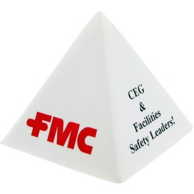 Branded Pyramid Stress Toy