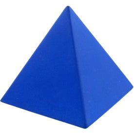 Pyramid Stress Toy with Your Slogan