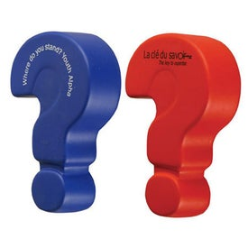 Question Mark Stress Ball