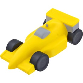Race Car Stress Ball (Yellow)