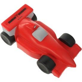 Branded Race Car Stress Ball