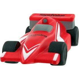 Race Car Stress Toy with Your Slogan