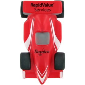 Branded Race Car Stress Toy